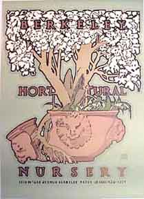 Berkeley Horticulture [poster]. David Lance Goines