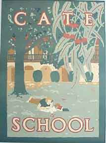 Cate School [poster]. David Lance Goines