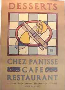 Chez Panisse Desserts Birthday [poster]. David Lance Goines