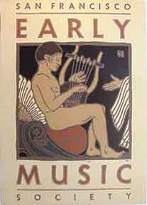 Early Music [poster]. David Lance Goines