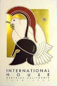 International House [poster]. David Lance Goines
