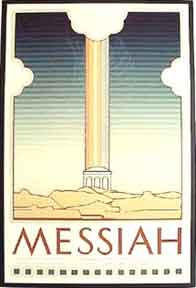 Messiah [poster]. David Lance Goines