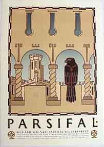 Parsifal [poster]. David Lance Goines