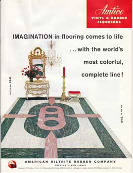 Imagination in flooring comes to life...with the world's most colorful, complete line! American...