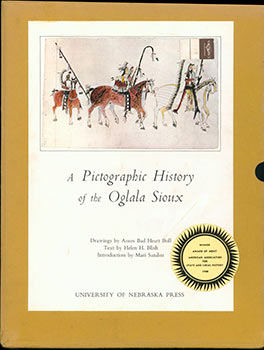 A Pictographic History of the Oglala Sioux. Amos Bad Heart Bull, Helen Blish