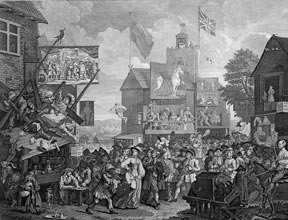 Southwark Fair. William Hogarth