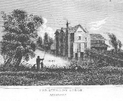 Farringdon Lodge, Berkshire. Castle after Smith