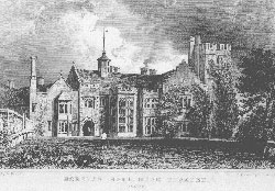 Horeham Hall, Near Thaxted, Essex. Armytage after Bartlett