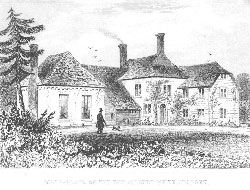 Birth-place of the Reverend Gilbert White, Selborn, Hampshire. Anonymous