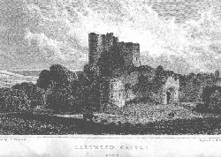 Saltwood Castle, Kent. Adlard after Shepherd