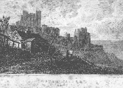 Dover Castle, Kent. Adlard after Gastineau