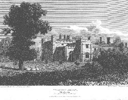 Twyford Abbey, Seat of Thomas William, Esquire, Middlesex. Wallis after Neale