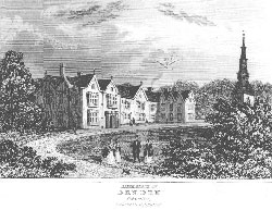 Birthplace of Dryden, Aldwinkle, Northamptonshire. Anonymous
