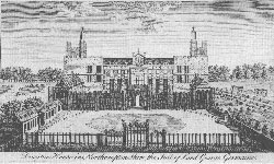 Drayton House in Northamptonshire, the Seat of Lord George Germaine