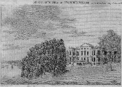Mr. Pope's Villa at Twickenham. Cary after Lewis