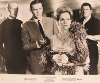 Thunderball (James Bond 007). ). Movie photograph. Claudine Auger Sean Connery, Adolfo Celi