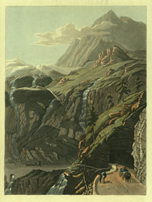 View of the Gallery of the Glaciers. R. Ackermann