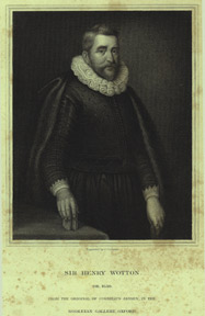 Sir Henry Wotton, obit. 1639. J. after Jansen Cochran