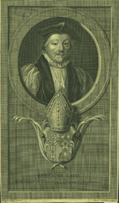 William Laud, Archbishop of Canterbury. Benedict after Werff Audran