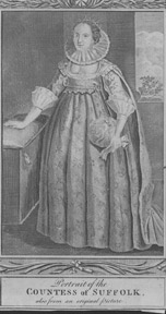 Catherine Knevet, Countess of Suffolk. after Caldwell Anonymous