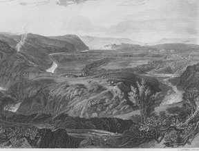 Crook of Lune, Looking Towards Hornby Castle. J. after J. M. W. Turner Archer