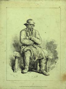 Man Seated. R. Ackerman, Ackermann