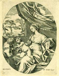 Virgin with Child. Carlo Maratti, Carolus Maratus