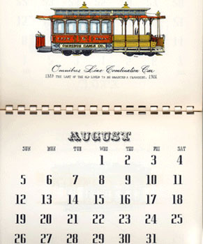 Evelyn Curro's First Annual Americana Calendar. Evelyn Curro