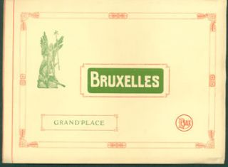 Bruxelles, Grand'Place. E. Desaix