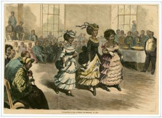 Feiertags-Spiele der Neger zu Richmond (Holiday celebration of the Blacks of Richmond). Anonymous...