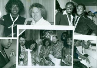 Collection of Photographs of Sylvester with fellow musicians, friends, producers, representatives...