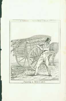A London Nuisance, Plate 1: Passing A Mud Cart. Richard Dighton