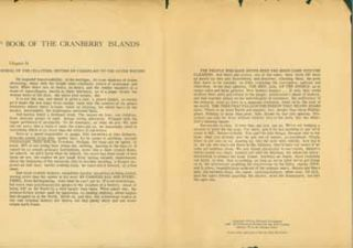 From Book Of the Cranberry Islands: Chapter 14, Burial of the Jellyfish; Return of Champlain to...
