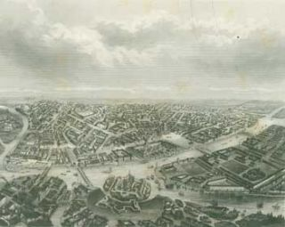 Petersburg. 19th Century German Engraver