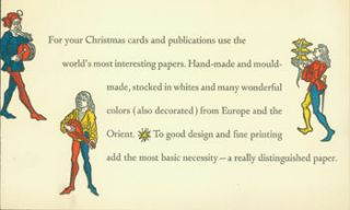For Your Christmas Cards. des., print, Stevens-Nelson Paper Corporation, Spiral Press