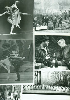 Ballet Production Photos. Prokofiev's Romeo & Juliet, and other productions. Bolshoi Ballet, Moscow