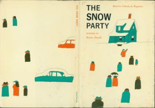 Dust Jacket only for The Snow Party. Beatrice Schenk de Regniers, Reiner Zimnik, illustr
