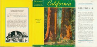 Dust Jacket only for California. A Guide to the Golden State. Federal Writers' Project of the...