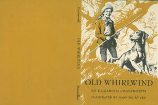 Dust Jacket only for Old Whirlwind. A Story of Davy Crockett. (Dust Jacket Only.). Elizabeth...