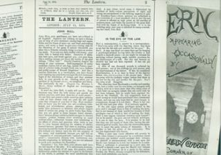 The Lantern. No. 2, July 15, 1874. Ambrose Bierce, Faustin, ill