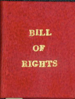 The Bill Of Rights. Borrower's Press, Jane Bernier