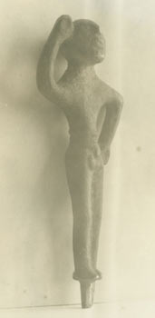 Photographs Of Standing Figure [Precolumbian?]. 20th Century Western Photographer, Ancient Olmec...