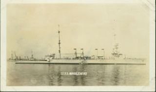 USS Marblehead (CL-12). 20th Century American Photographer
