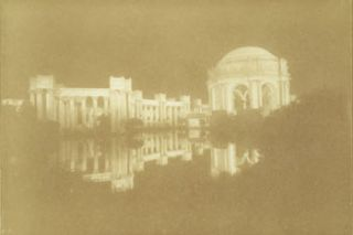 Palace Of Fine Arts, San Francisco. Sepia Tone Print of Photograph. 20th Century American...