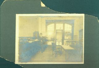 Sepiatone Photograph of Jefferson County Abstract Co., Chas. Reynolds Mgr. Jefferson County...
