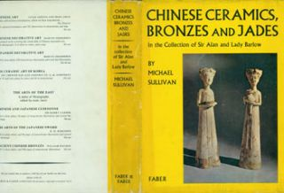 Dust Jacket only for Chinese Ceramics, Bronzes and Jades. Michael Sullivan