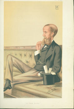 """The Bank Holiday."" Sir John Lubbock, Bart. February 23, 1878. Vanity Fair, Day Vincent Brooks,..."