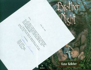 Typed letter, signed, Peter Clarke to Herb Yellin. July 30, 1991. Illustrator pitching his...