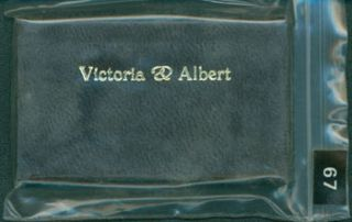 Victoria & Albert. 1 of 253 copies [#67]. Ian Macdonald