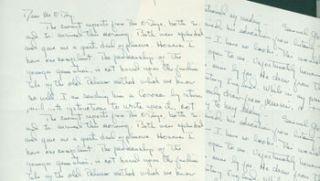 MS Letter by F. J. O'Connor to Edward & Mazie O'Day, [April 25 1944?]. RE: literature,...